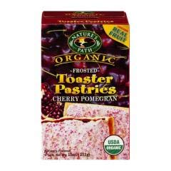 Nature's Path - Frosted Cherry Toaster Pastry (12-11 oz boxes) - Frosted with the Tart-Sweet Flavor of Cherry