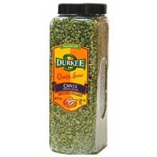 Durkee Freeze Dried Chives - 1 oz. container, 6 per case by Durkee