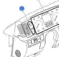 Volvo Truck 20953575 Headlight Switch