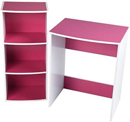 Furniture-r Francia Escritorio Mesa + Estante para niños Player ...
