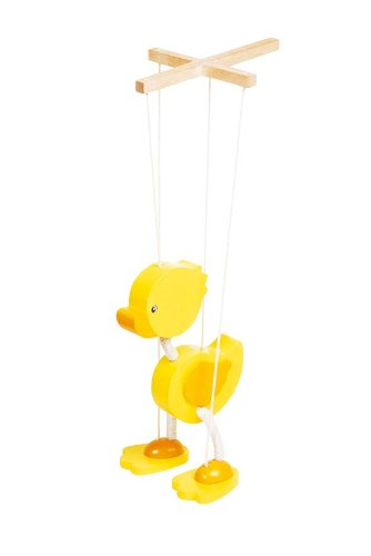 Yellow ducky duck marionette GoKi 51969