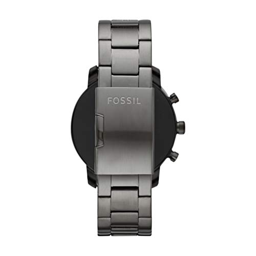 Fossil Explorist Hr Black Dial Men's Smart Watch-FTW4012