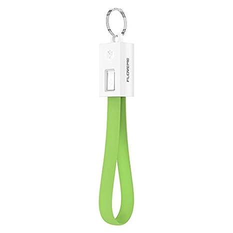 Mercatohouse - Cargador Llavero USB Silicona para iPhone 6 / 6s / 7/8 / 8Plus / X/XS/XR Dispositivos con Conector Ligthning. (Verde)
