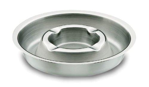 Lacor 62916 - Cenicero redondo inoxidable, 16 centímetros de diámetro Lacor_62916