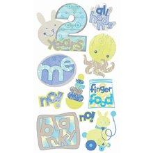EK Success Vellum Stickers - 2 Years Old