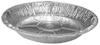 "Aluminum Foil Pie Pans Tart Quiche Deep Dish Style 9"" x 1 3/16""(50 Pack) with 17"" Flame Retardant Oven Mitt"