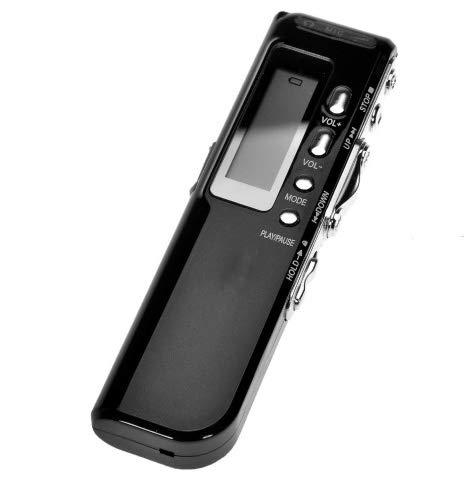 Flamingo Bonut Voice Recorder for Lectures 4GB Digital Voice Recorder Voice Activated USB Pen Digital Audio Voice Recorder Dictaphone MP3 Player gravador
