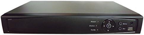 101 AV Inc 101AV 16CH Surveillance Digital Video Recorder HD-TVI//AHD H264 Full-HD DVR 2TB HDD HDMI//VGA//BNC Video Output Cell Phone APPs for Home /& Office Work @1080P//720P TVI 1080P AHD Standard Analog/& IP Cam