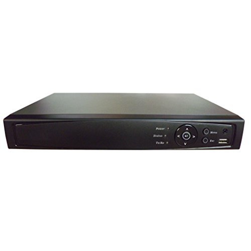 101AV 8CH Surveillance Digital Video Recorder HD-TVI/AHD H264 Full-HD DVR 1TB HDD HDMI/VGA/BNC Video Output Cell Phone APPs for Home & Office Work @1080P/720P TVI, 1080P AHD, Standard Analog& IP Cam ()