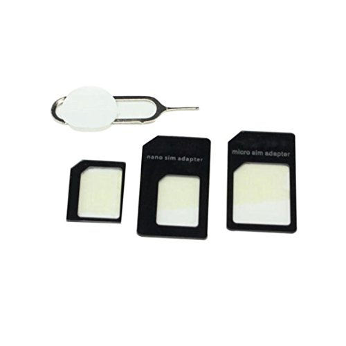 Price comparison product image Convert Nano SIM Card to Micro Standard Adapter For iPhone 5, Tuscom