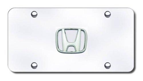 chrome honda license plate - 8