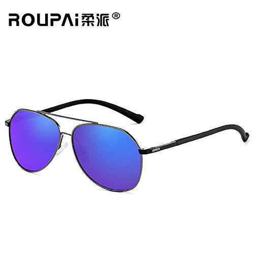 de Anti de Bicolore HD nbsp;Plage Mjia sunglasses Conduite à Vision reflet G polarisé Lunettes de pêche Cheval pour Miroir de Sport Soleil nbsp;Lunettes Homme SOz0nqHO
