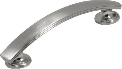 Hickory Hardware P2141-SN 96mm American Diner Pull, Satin Nickel (American Diner Cabinet)
