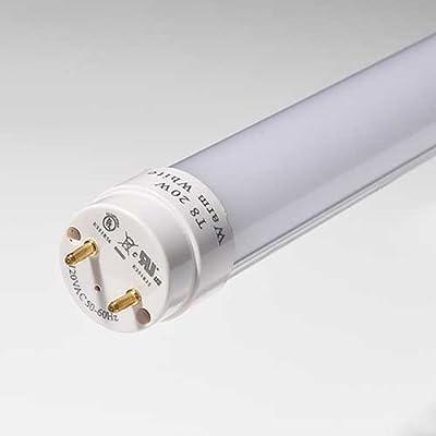 20 Watt 4-foot T8 LED Tube Light 45W Fluorescent Tube
