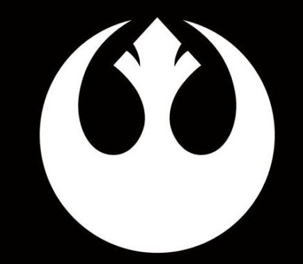 (REBEL Alliance Sticker Vinyl Decal Star Wars - Car Window Wall Decor, Die cut vinyl decal for windows, cars, trucks, tool boxes, laptops, MacBook - virtually any hard, smooth surface)