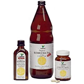 Kombucha Tea Pronatura 33.8 oz. Bulk 1 Pronatura