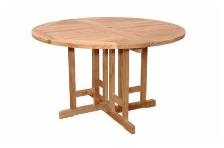 Amazon.com: Mariposa 47-inch redondo mesa plegable, mesa de ...