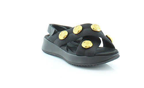BURBERRY Actonshire Women's Sandals & Flip Flops Black Size 8 M