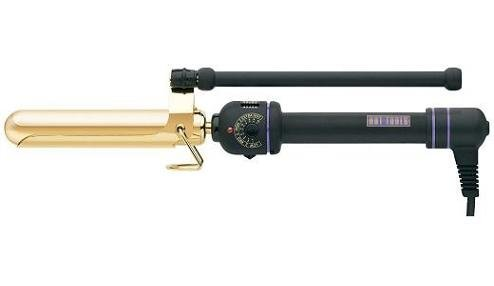 Hot Tools Professional 24K gold-plated Marcel Grip Curling Iron (1