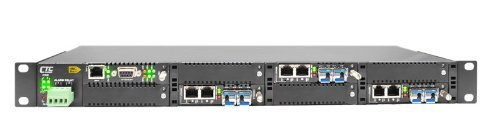 (FRM220-CH08 media converter chassis, 8 slot, SNMP and web based management support, rack mount 19