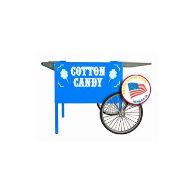 Deep Well Cotton Candy Cart Color: Blue