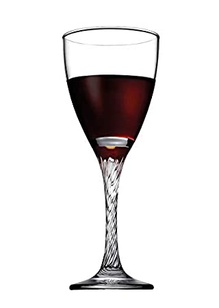 Pasabahce Twist Red Wine Glass,205 ml,Set of 3
