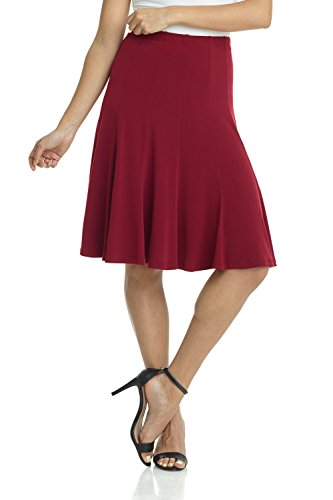 just a twirl burgundy dress - 2