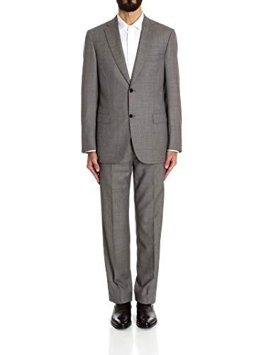 (BRIONI Men's 7771051A1155 Grey Wool Suit)