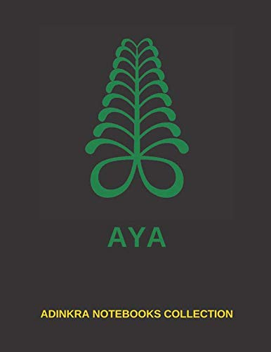 ADINKRA NOTEBOOKS COLLECTION - AYA BLANK LINED JOURNAL