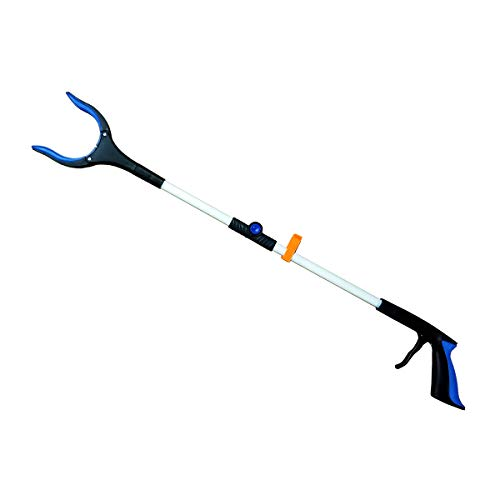 Wasser Vela Reacher Grabber Pick Up Tool, 32 Inches Folding Rotating Lightweight, Extender Gripper Tool, Claw Trash Garbage Picker, Litter Picker, Garden Nabber