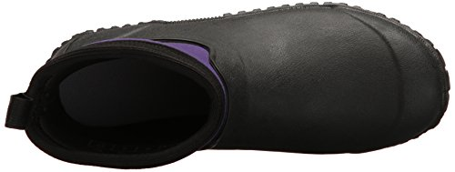 Women's purple Muck Et Boots Femme Muckster Bottines black Pluie Ii Noir Bottes De Ankle A5BnqO5xw4