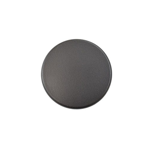 Bosch 00622484 Range Surface Burner Cap Genuine Original Equipment Manufacturer (OEM) Part Black (Cap Black Burner Range)
