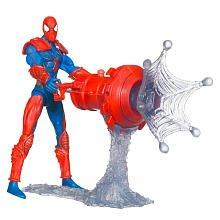SpiderMan 2010 Series Two 3 3/4 Inch Action Figure Web Blast SpiderMan