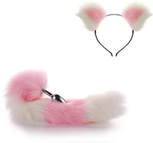 pink foxcat ears