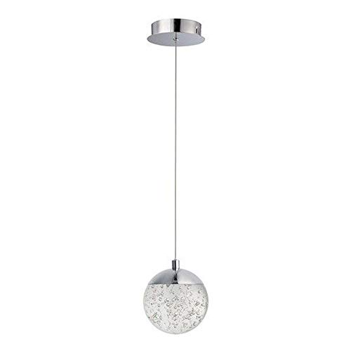 (ET2 Lighting E24261-91PC Orb II Pendant Light Polished Chrome)