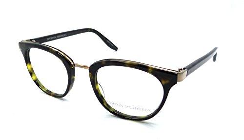 Barton Perreira RX Eyeglasses Frames Paulina 48x22 Dark Walnut / Brushed - Perreira Barton