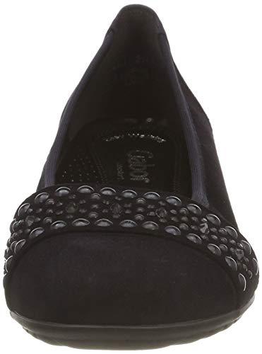 Mujer Azul para 86 Atlantik Sport Comfort Shoes Bailarinas Gabor 6XUqv