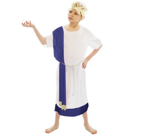 [Child Boys Roman Emperor Costume (4-6 years) by henbrandt] (Roman Emperor Costume Accessories)
