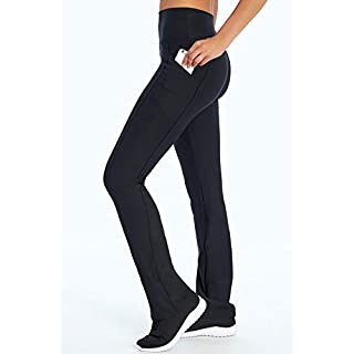 Marika Eclipse Tummy Control Bootleg Legging, Black, Medium