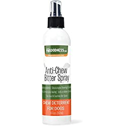 Bitter Apple Spray For Dogs - No Chew Spray for Dogs to Stop Chewing Furniture - Anti Chew Spray for Biting