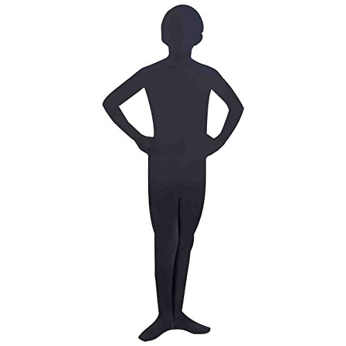 Costumes Skin (Forum Novelties I'm Invisible Bodysuit, Black, Child's Large)