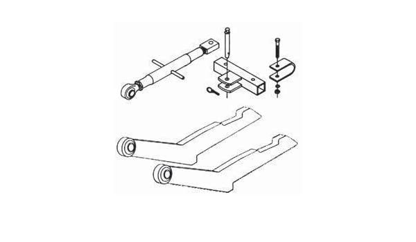 Amazon Com New 2 Pt Hitch Conversion Kit 49a306 Fits Ca 300 330