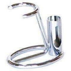Omega 226 - Razor and Shaving Brush Stand-CHROME