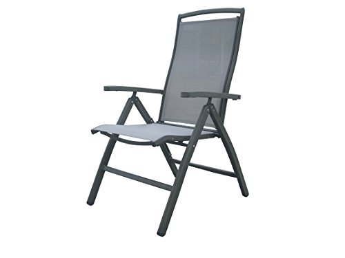 Panama Jack PJO-1501-GRY-FC Newport Beach Multi-Position Folding Armchair, Grey price