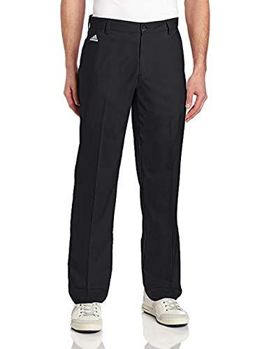 adidas Mens Golf Climalite 3-Stripes Tech Pant, 30x32 Black
