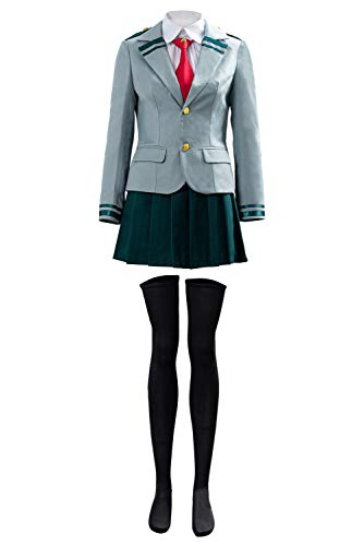 NoveltyBoy Boku no Hero Academia My Hero Academia Tsuyu School Uniform Cosplay Costume