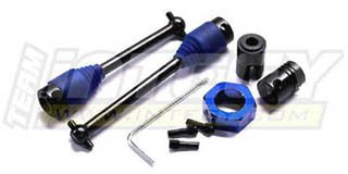 Integy Hobby RC Model T3728 Evolution3 Center Drive Shaft for Traxxas T-Maxx (4909)