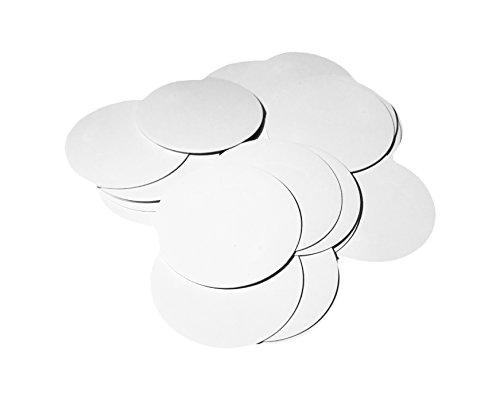 TagLabs NFC NTAG215 Chips 25-Pack, 3M Adhesive Backing, Blank