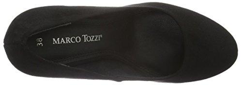 Marco Tozzi 22441 - Tacones Mujer Negro - Schwarz (BLACK COMB 098)