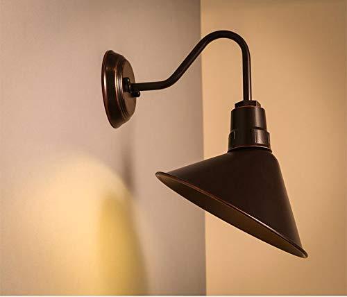 XINQITAIDENG Illuminazione da Parete in Ferro, Lampada da Parete Creativa, Decorazione Artigianale in Ferro